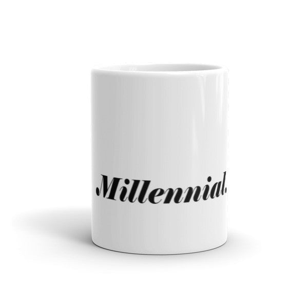 Millennial Mug - Bossy World's Stop and Status - 1