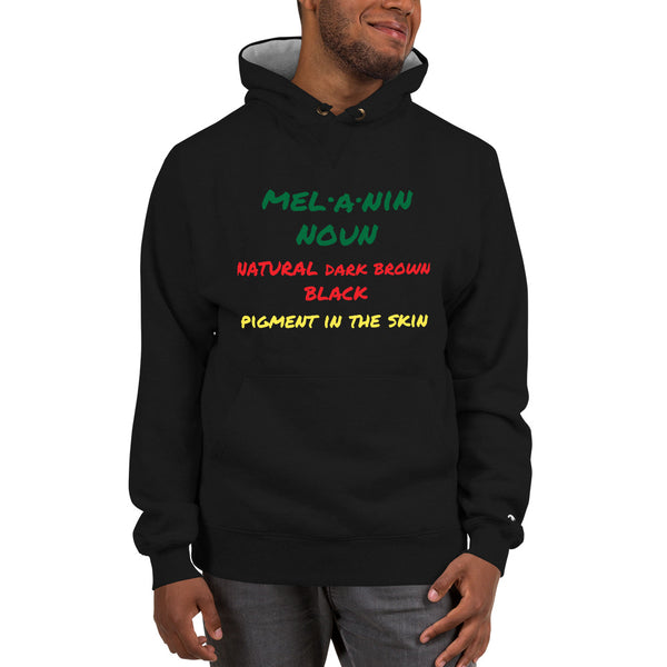 Melanin Defined Champion Brand Hoodie