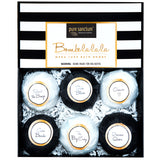 Bath Fizzers Gift Set - Luxury Bath Fizzies - 6 Lush Size 6oz Natural Bath Balls - US Made - Pure Scentum