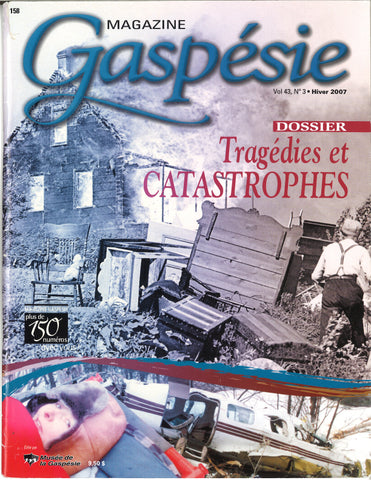 No. 158 - Tragédies et catastrophes