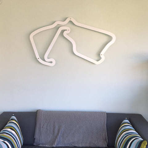 Aluminium Motorsport Wall Art