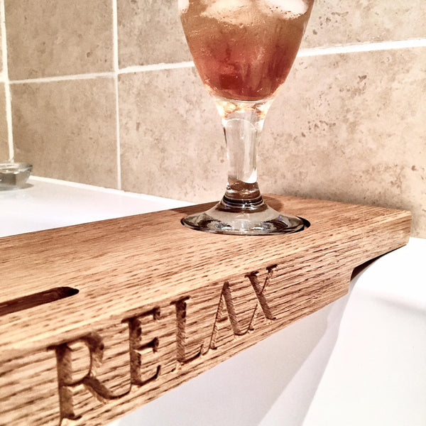 Oak Bath Bar
