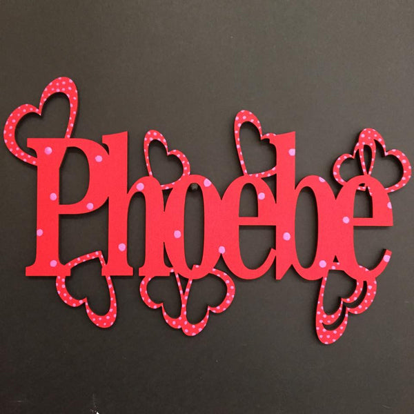 Children's Name Sign - The Laser Artist - 3