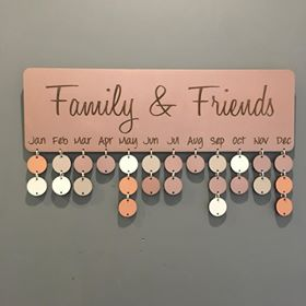 Metallic Copper Birthday Board