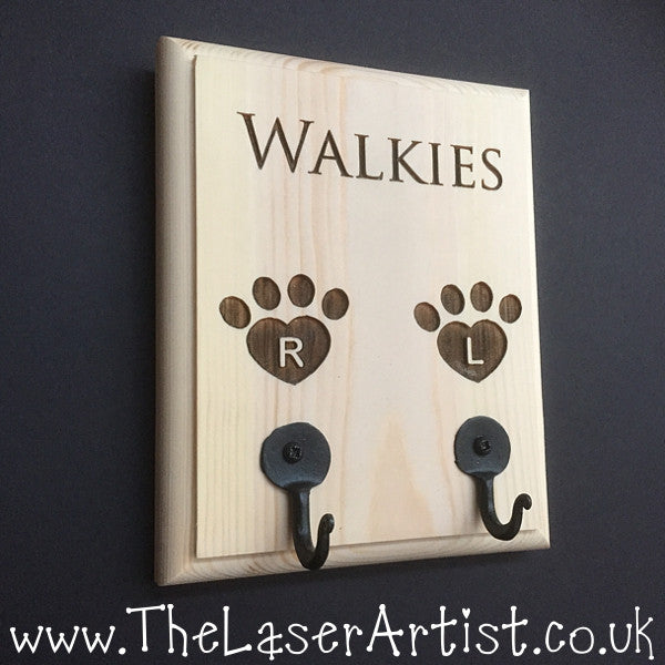 Personalised Dog Lead Tidy - The Laser Artist - 1