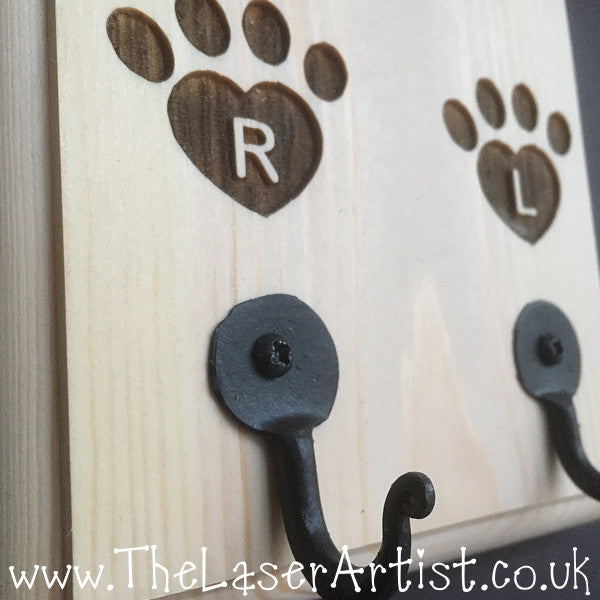 Personalised Dog Lead Tidy - The Laser Artist - 3