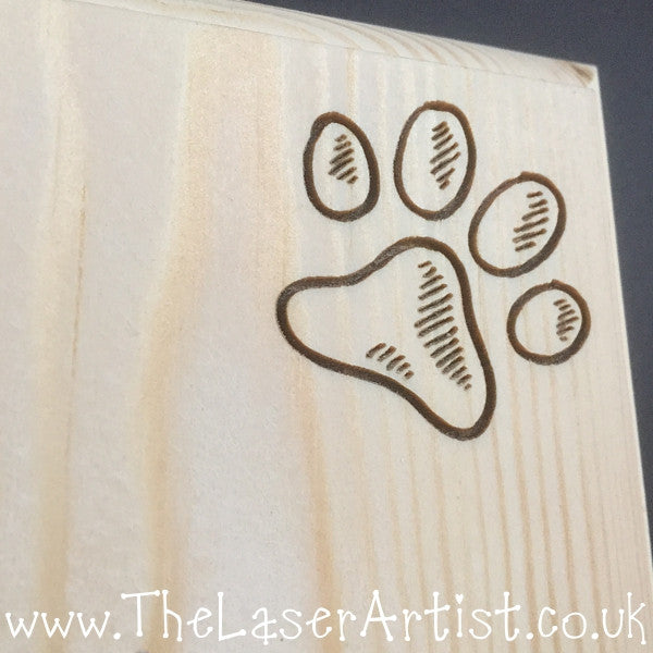 Personalised Dog Lead Tidy - The Laser Artist - 6