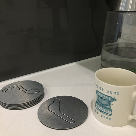 Motorsport Circuit coasters