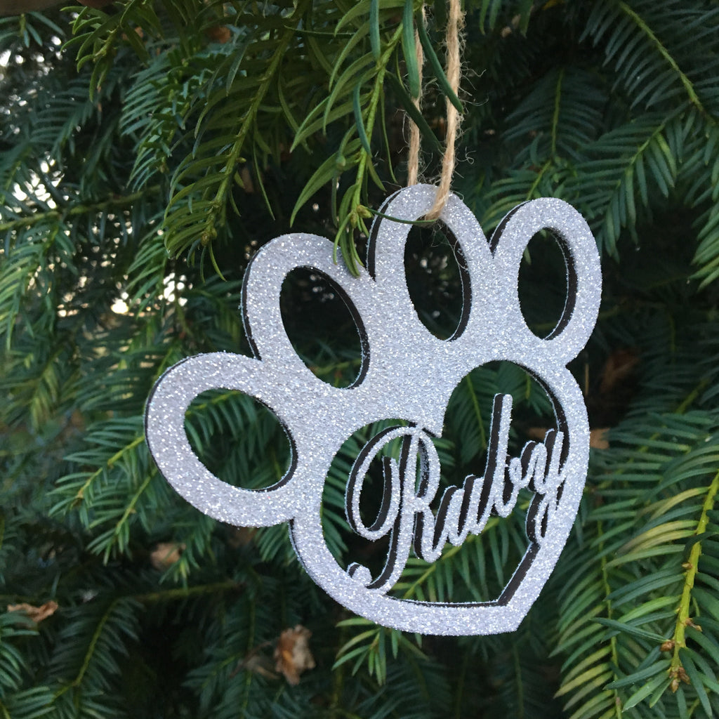 Personalised Dog Christmas Bauble