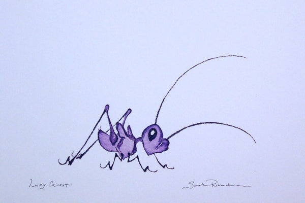 Lucky Cricket (unframed)