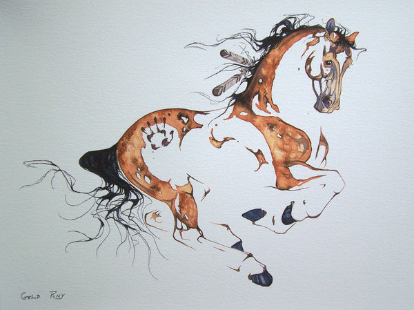 Gold Pony (unframed)