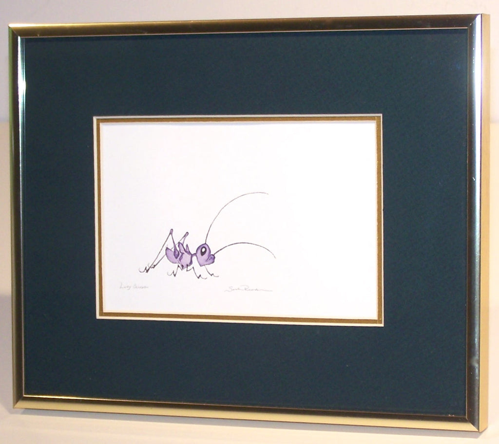 Lucky Cricket (framed)