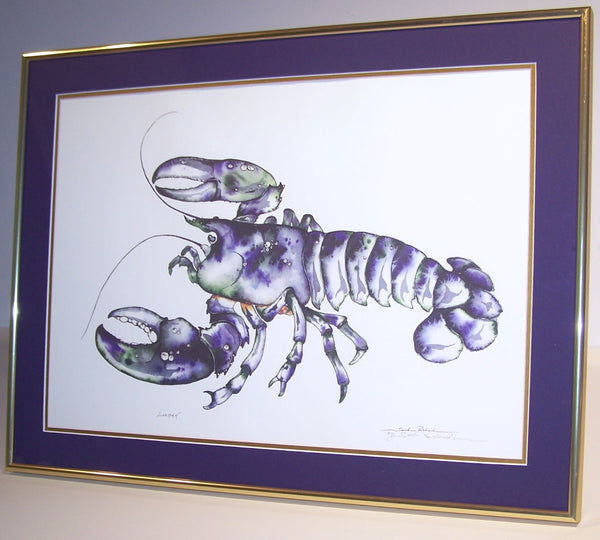 Lobstah' (framed)