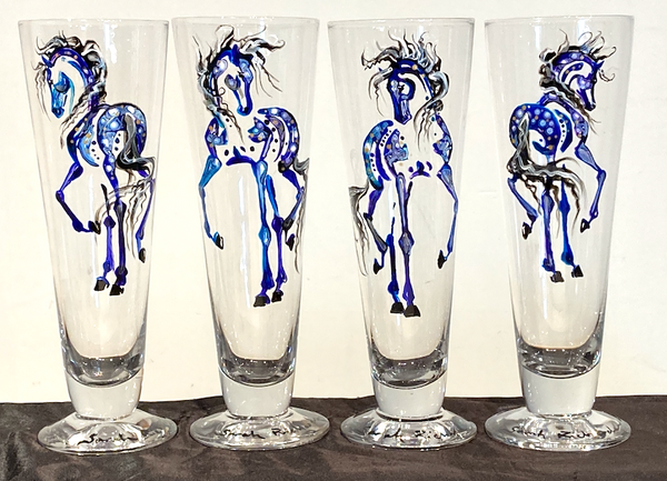 Pilsner Beer Glasses (12oz)