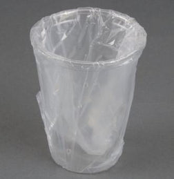 PLASTIC CUP INDIV WRAPD 500/ 12 oz /CS - NEW