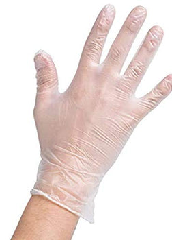 Latex Gloves X Large Pack of 100 Ct
