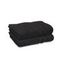 Image of Bath Mat - (2 Pack - Black -22x34 Inch) - 100 % Ringspun Cotton 10 lb/dz - Maz Tex Supply