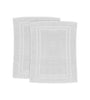 Image of 2 Pack Premium Hotel Bath Mats Large (White, 22X34) 10lb/dz - Maz Tex Supply