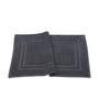 Image of Bath Mat - (2 Pack - Grey -22x34 Inch) - 100 % Ringspun Cotton 10 lb/dz - Maz Tex Supply