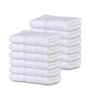 Image of 12 Premium Bath Towel ( 27x54 inches -White-15 lb/dz) 100% Ring-Spun Cotton - Maz Tex Supply