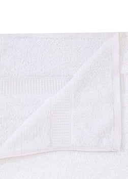 12 White Premium Bath Towel ( 27x54- 17 lb/dz) 100% Ring-Spun Cotton