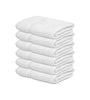 Image of 12 New White 20X40 100% Cotton Bath Towels Soft & Quick Dry 5 lb/dz - Maz Tex Supply