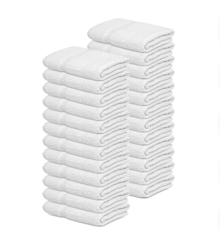 "Bath Towel (20""x 40"") 100% Soft Cotton -1 Unit= 5 Dozen Case Pack 4.90 lb/dz - Maz Tex Supply"