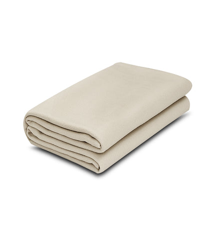 Ivory Color 100% Micro Poly Fleece -MazTex Lux Blankets - 12 Pcs Case Pack =1 Unit - Maz Tex Supply