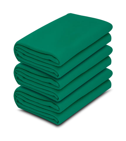 1 pack Jade Color 100% Micro Poly Fleece -MazTex Lux Blankets - Maz Tex Supply