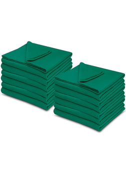 Jade Color 100% Micro Poly Fleece -MazTex Lux Blankets - 12 Pcs Case Pack =1 Unit