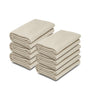 Image of Ivory Color 100% Micro Poly Fleece -MazTex Lux Blankets - 12 Pcs Case Pack =1 Unit - Maz Tex Supply
