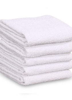 "24 Dozen Case Pack White 16""x19"" Restaurant Bar Mops Kitchen Towels"