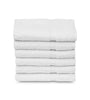 "Image of 12 Soft Cotton Hand Towels White (16""x27""inches)  Salon/Gym/ Hotel hand towel 3 lb/dz - Maz Tex Supply"