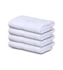 "Image of 4-Pack White Towels (16""x30"") 100% RingSpun Cotton 4 lb/dz - Maz Tex Supply"