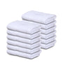 "Image of 12 Premium Quality 100% Rinspun Cotton Hand Towels ( 16"" x 27""- White) -3 lb /dz - Maz Tex Supply"