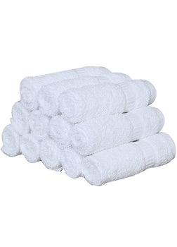 4-Pack White Towels (16