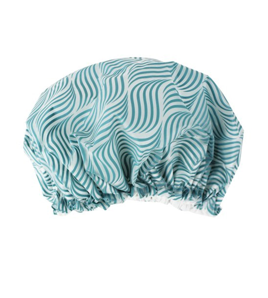 SHOWER CAP BOXED SPA GREEN 100/CS