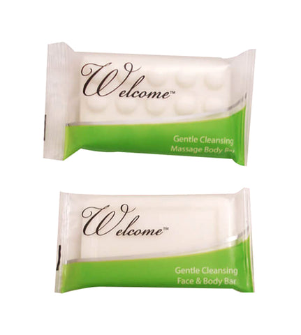 WELCOME BAR SOAP 500/ # 1.5/CS