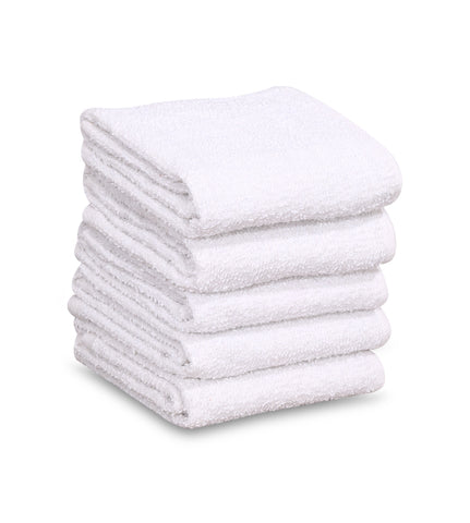 "36 New 100% Cotton White 16""x19"" Restaurant Bar Mops Kitchen Towels - Maz Tex Supply"