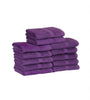 Image of Salon Towels (12-Pack- 16x27 inches) -100% Rinspun Cotton- Gym-Salon-Spa Hand Towel 3 lb/dz - Maz Tex Supply