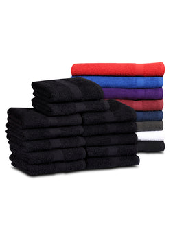Salon Towels (120 Case Pack- 16x27 inches) -100% Rinspun Cotton 3 lb/dz