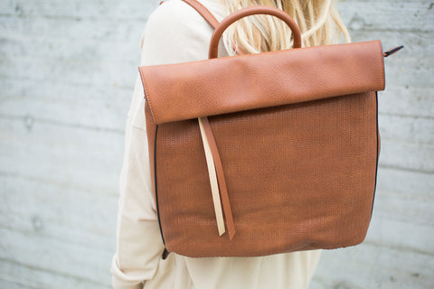 Backpack - Dark Tan