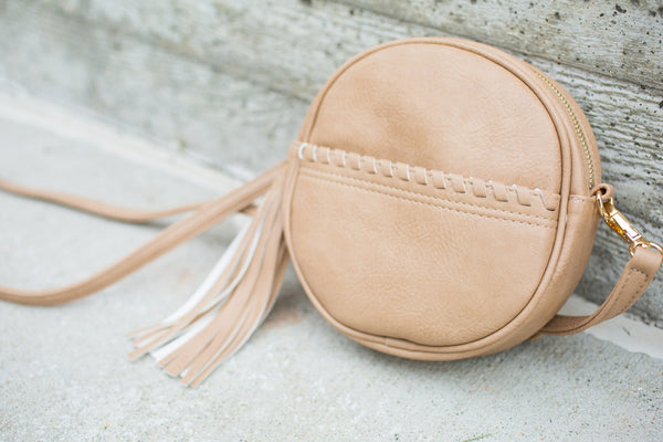 The Addison Purse - Beige