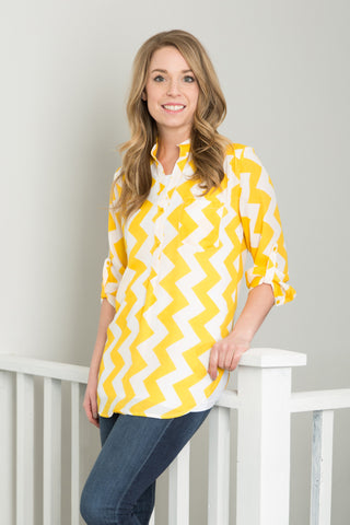 Chevron Tunic