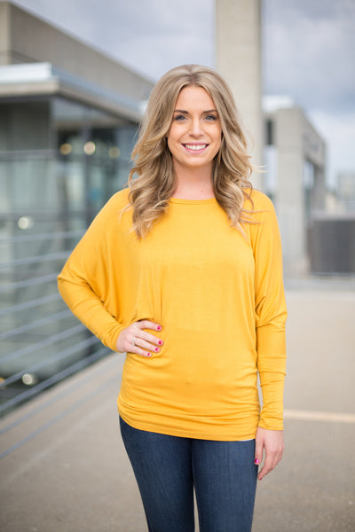 Long Sleeve Favorite Dolman - 8 Colors