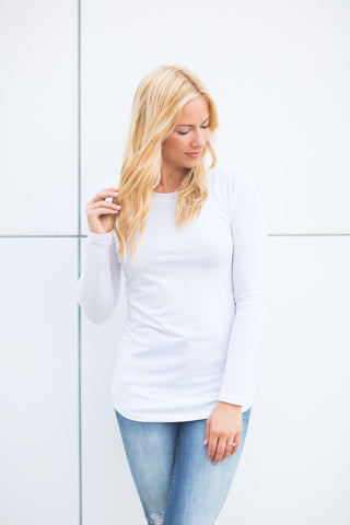 Extra Long - Long Sleeve Crewneck - S-XL