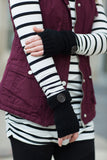 Fingerless Knit Gloves - 7 Colors