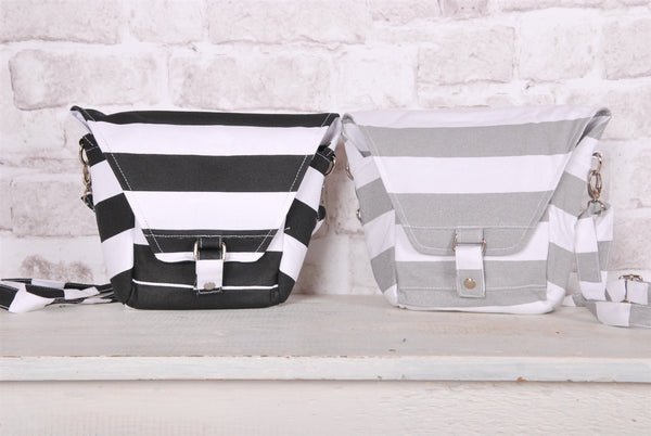 Striped Camera Bags - 2 Colors