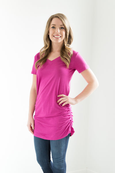 Bamboo Cotton V-neck - 6 Colors