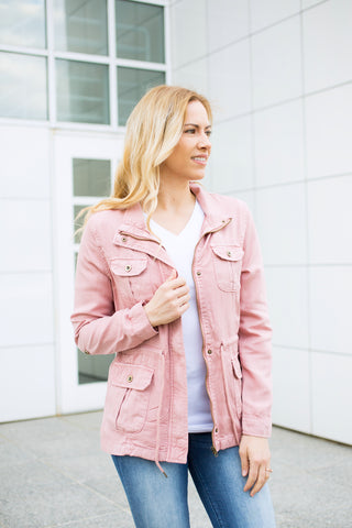 Tencel Jacket - Light Pink